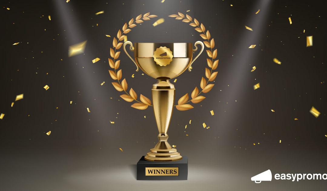 ¡Enhorabuena a los ganadores!